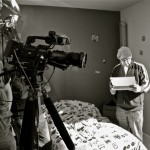 """Kevin Mauch & Michael Hemschoot - On the set for """"The Cleaning"""""""