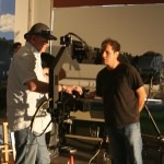 KDM Pro's Kevin Mauch with Phil Lucero for a Delta Dental viral video shoot.