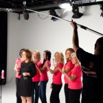 "On the set of the ""TeasEASE"" Infomercial."